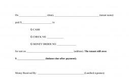 003 Stirring Sample Rent Receipt Word Doc Example