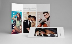 003 Stirring Tri Fold Brochure Indesign Template Image  A4 Adobe Download