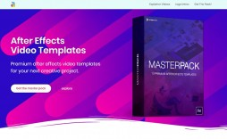 003 Striking After Effect Video Template Inspiration  Templates Intro Free Download Cs5 Clip
