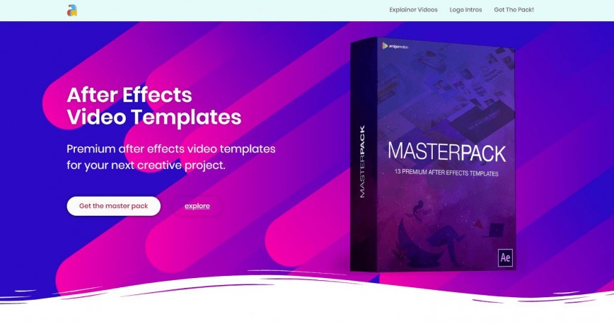 003 Striking After Effect Video Template Inspiration  Templates Videohive Adobe Free