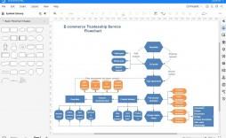 003 Striking Excel Flow Chart Template Highest Quality  Templates Basic Flowchart Microsoft Free 2010