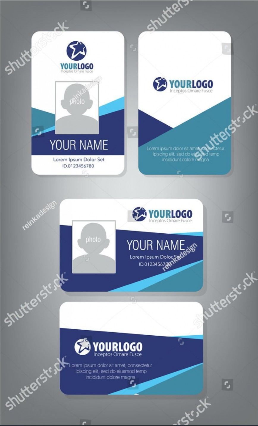 Employee Id Card Template Free Download from www.addictionary.org