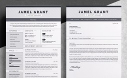 003 Striking Free One Page Resume Template Sample  Word Download 2018 Best