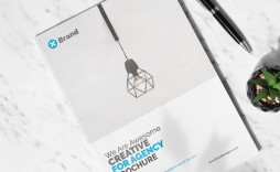 003 Striking Free Online Brochure Template For Word High Resolution  Microsoft
