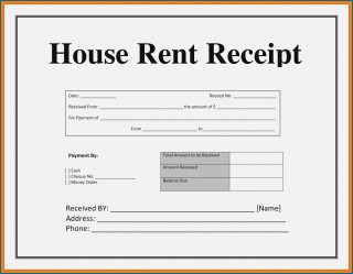 003 Striking House Rent Receipt Sample Doc Inspiration  Format Download Bill Template India320