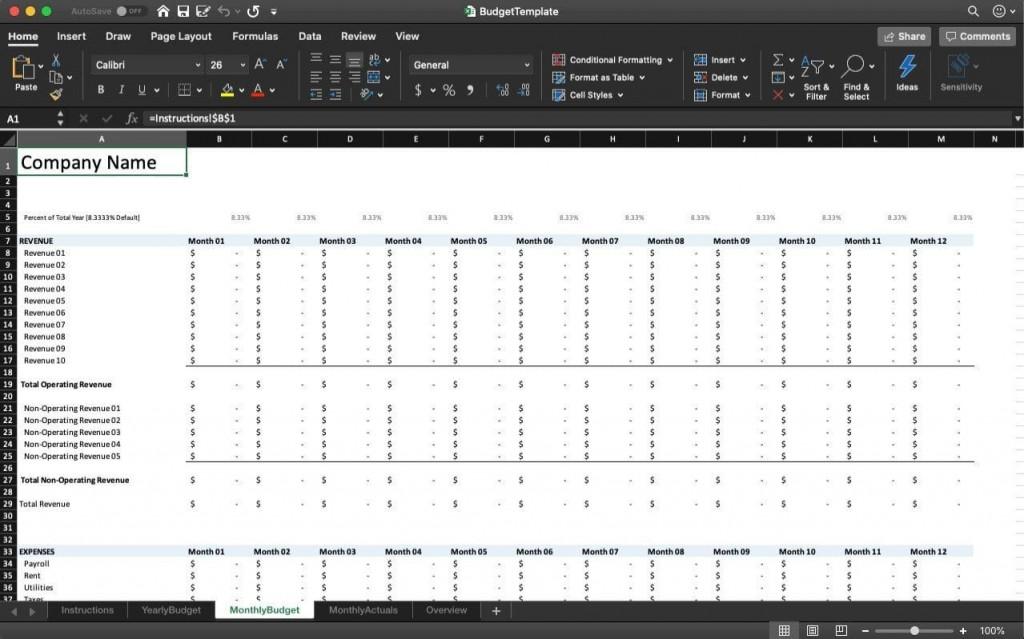 003 Striking Personal Spending Excel Template Sample  Best Budget Planner Free FinanceLarge
