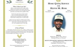 003 Striking Sample Template For Funeral Program Highest Clarity