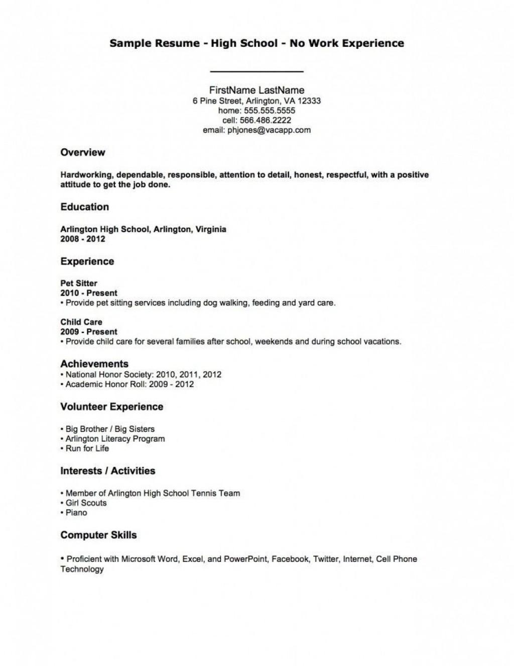 003 Striking Simple Job Resume Template Highest Clarity  Download FirstLarge