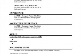 003 Striking Student Resume Template Word High Def  School Free College Microsoft Download