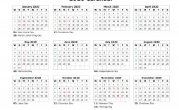 003 Stunning 2020 Blank Calendar Template Image  Printable Monthly Word Downloadable With Holiday