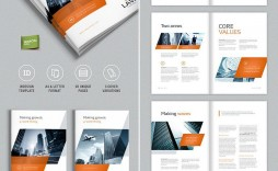 003 Stunning Adobe Indesign Brochure Template Free Download Example