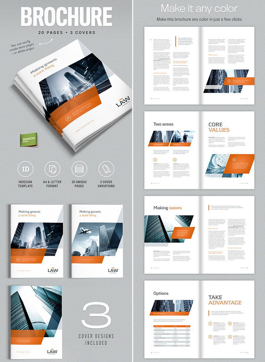 003 Stunning Adobe Indesign Brochure Template Free Download Example Full