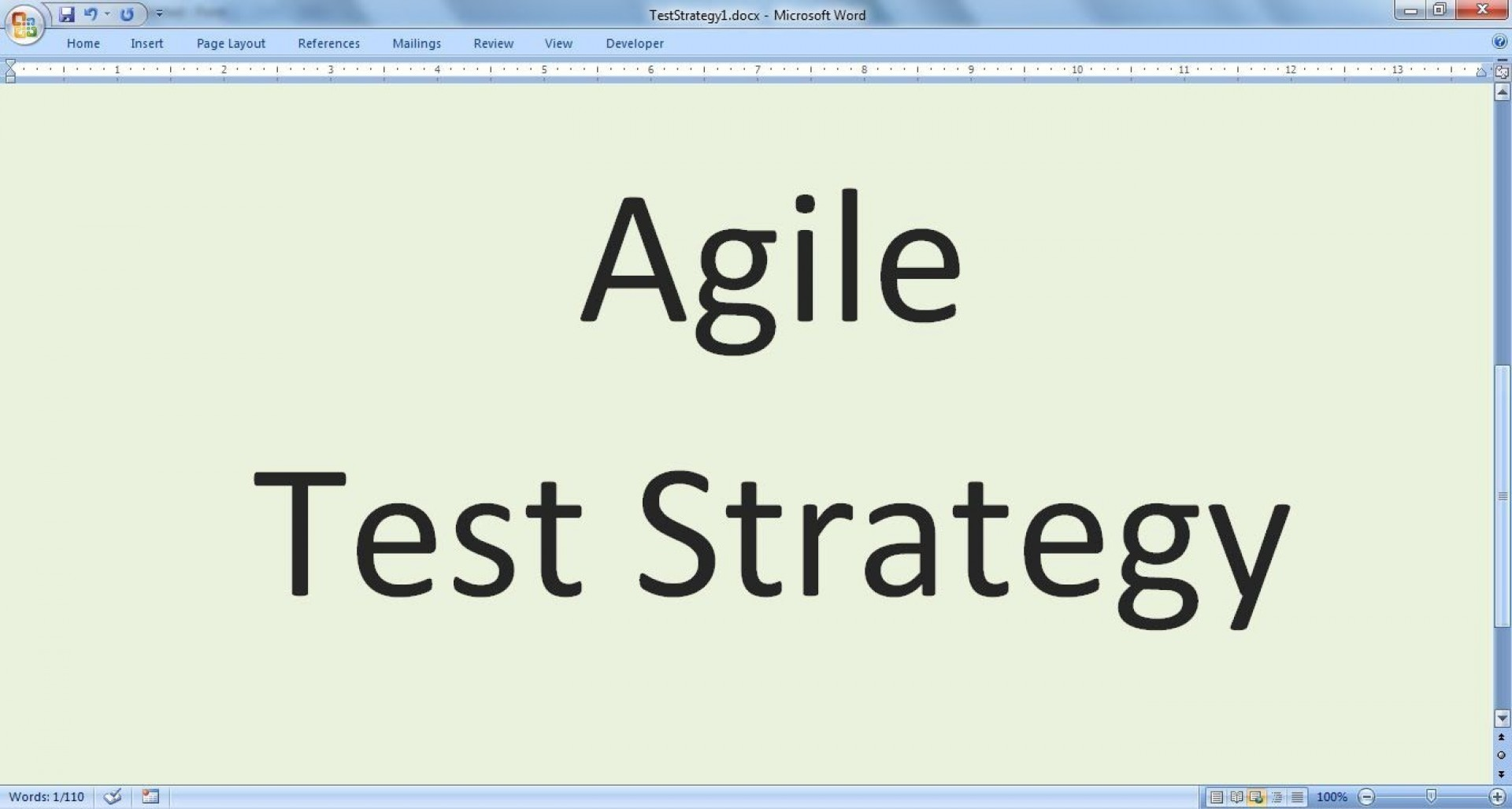 003 Stunning Agile Test Plan Template Photo  Word Example Document1920