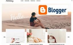 003 Stunning Best Free Responsive Blogger Template For Education Sample