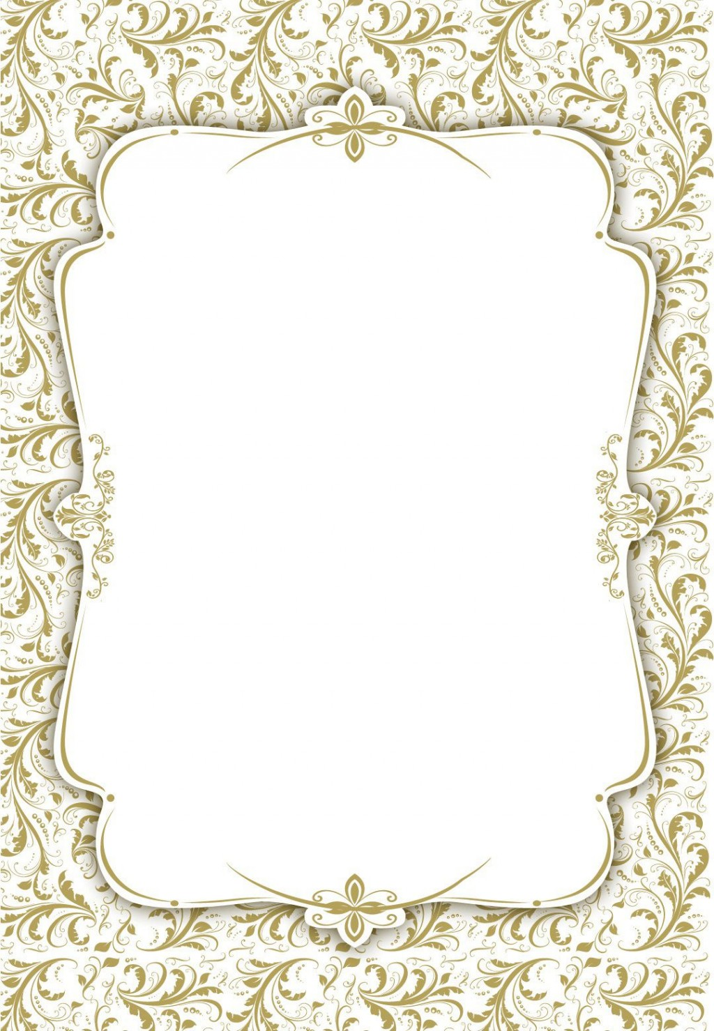 003 Stunning Blank Wedding Invitation Template Idea  Templates Free Download Printable Royal BlueLarge