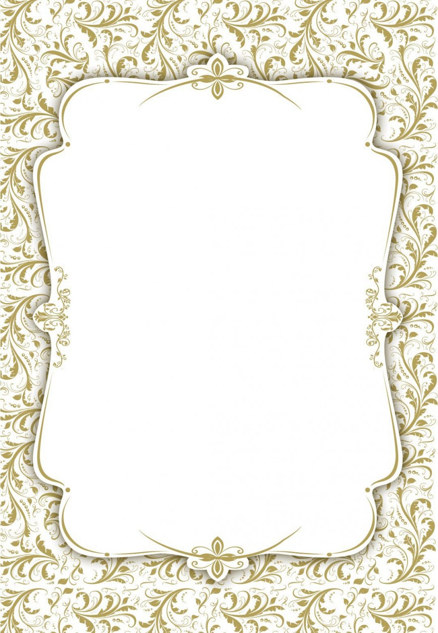 Blank Wedding Invitation Templates Addictionary