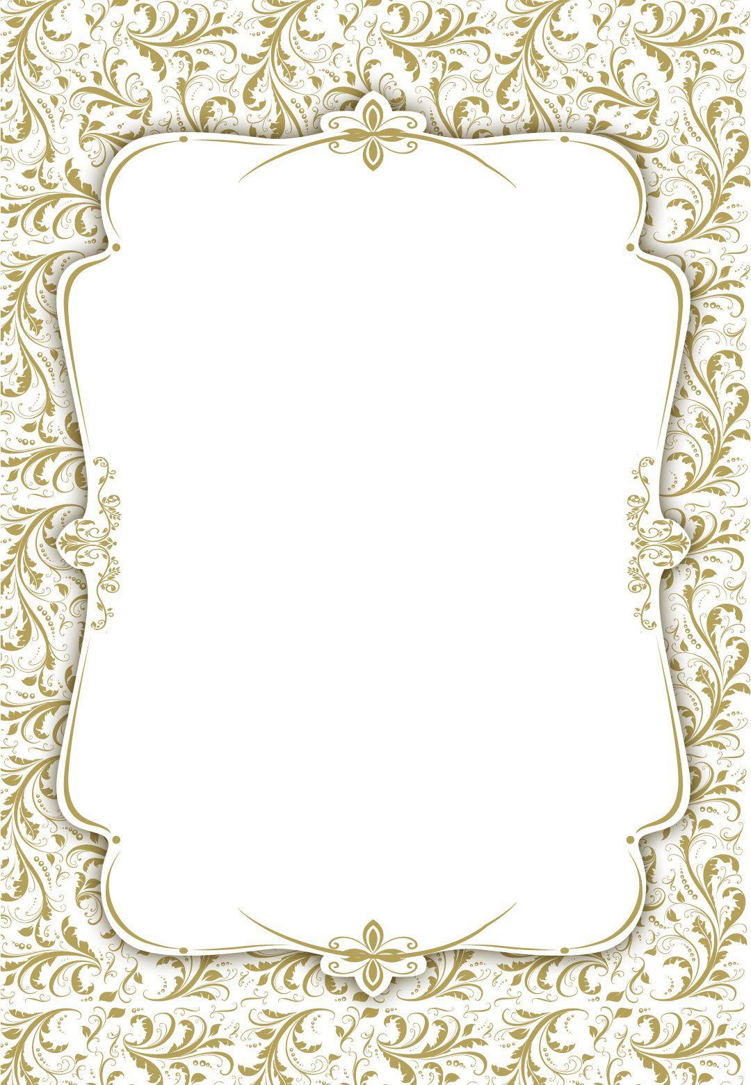 003 Stunning Blank Wedding Invitation Template Idea  Templates Free Download Printable Royal BlueFull
