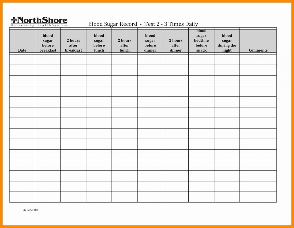 003 Stunning Blood Glucose Spreadsheet Template Picture  TrackingLarge