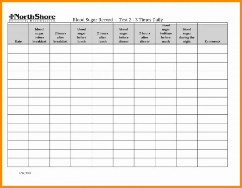 003 Stunning Blood Glucose Spreadsheet Template Picture  Tracking480