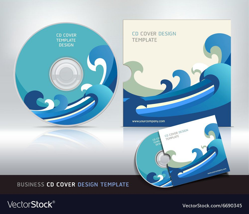 003 Stunning Cd Cover Design Template High Definition  Free Vector Illustration Word Psd DownloadFull