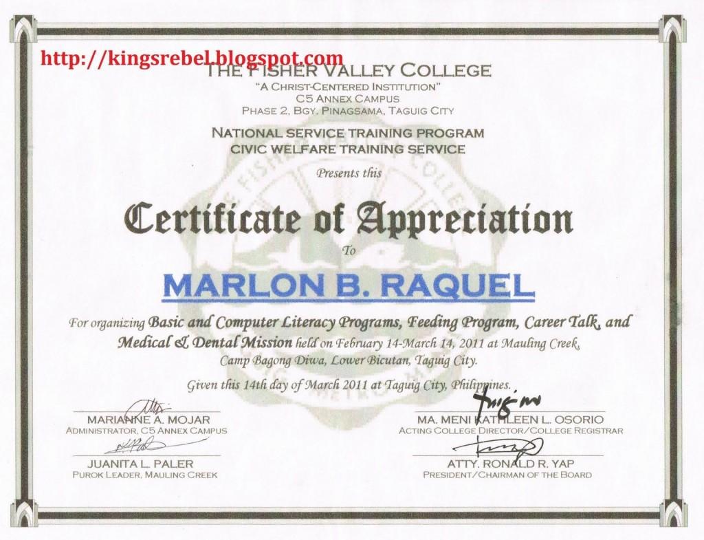 003 Stunning Certificate Of Recognition Sample Wording Image  AwardLarge