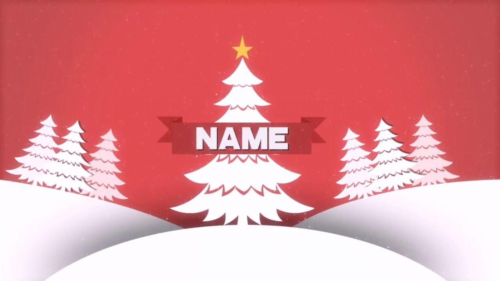 003 Stunning Christma Template Free Download Sample  Word Editable Card Tree1920
