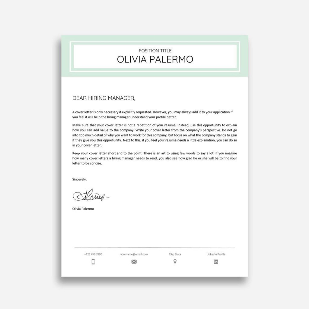 003 Stunning Cover Letter Sample Template Word Highest Quality  Resume MicrosoftLarge