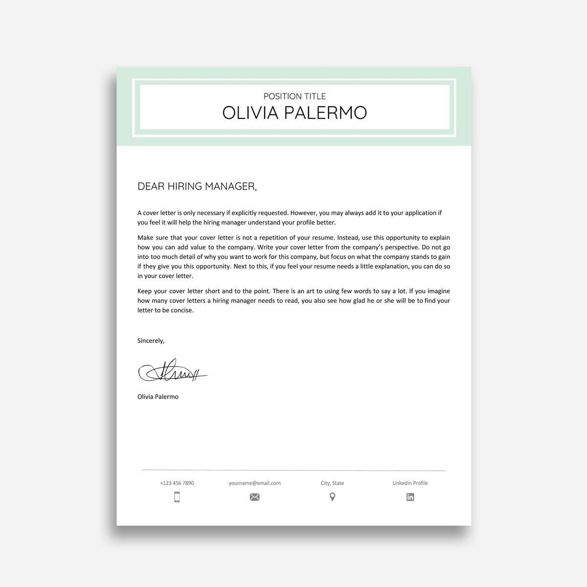 003 Stunning Cover Letter Sample Template Word Highest Quality  Resume MicrosoftFull