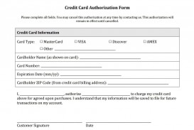 003 Stunning Credit Card Authorization Template High Resolution  Form For Travel Agency Free Download Google Doc