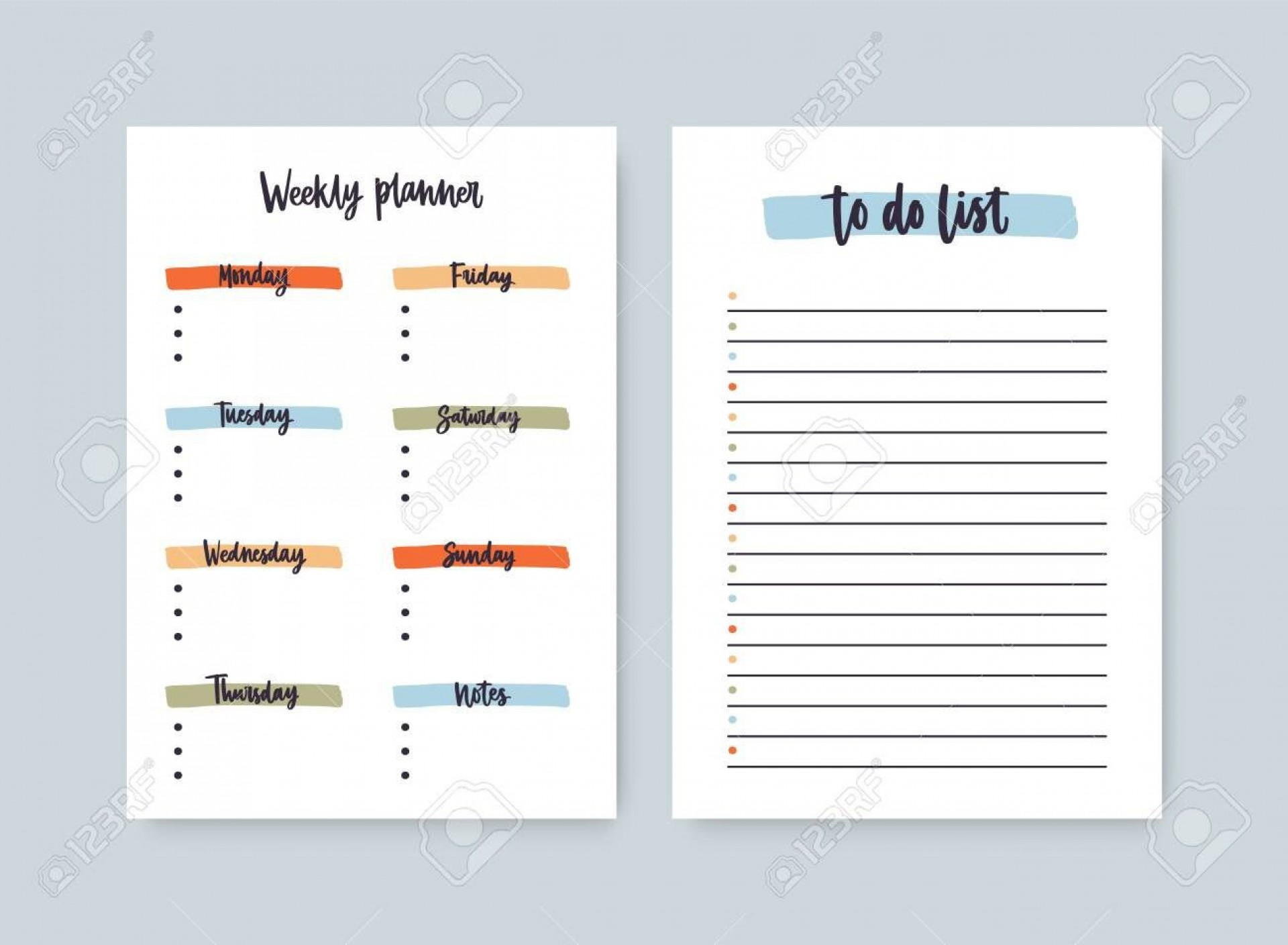 003 Stunning Daily To Do List Template Sample  Templates Free1920
