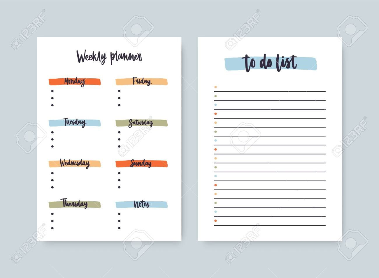 003 Stunning Daily To Do List Template Sample  Templates FreeFull