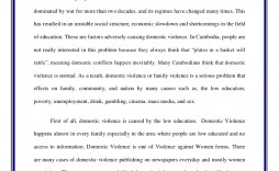 003 Stunning Domestic Violence Essay Picture  Persuasive Topic Question