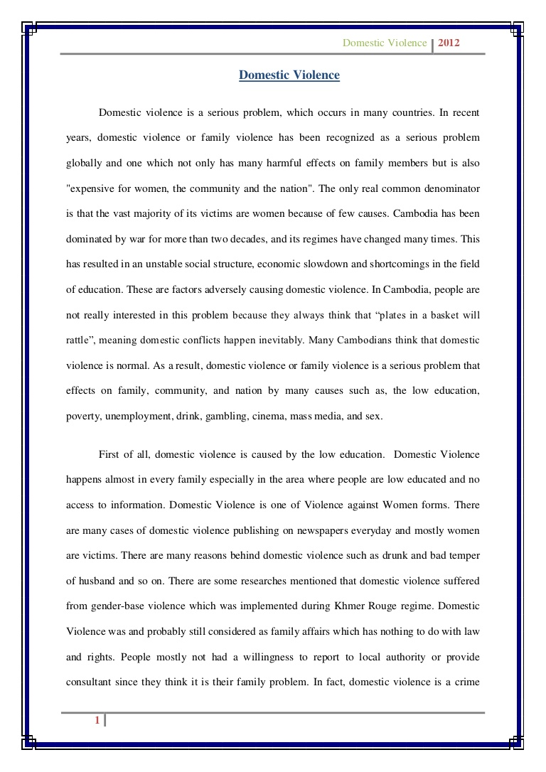 003 Stunning Domestic Violence Essay Picture  Persuasive Topic QuestionFull