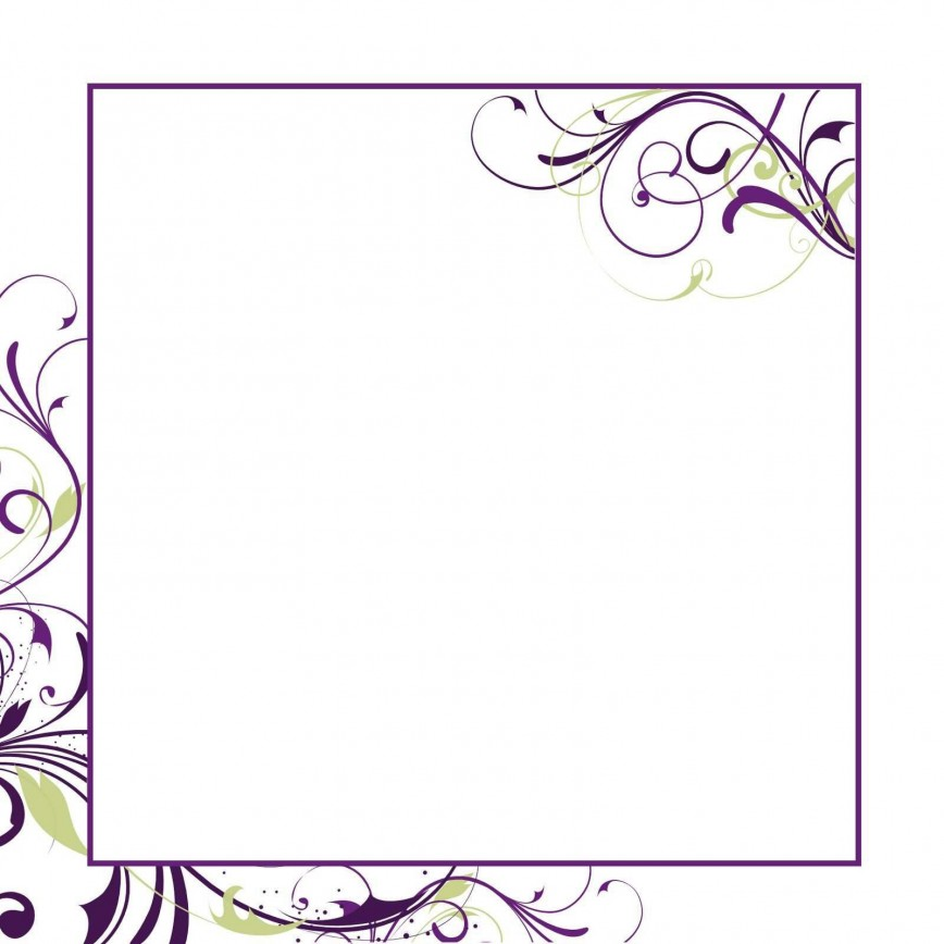 003 Stunning Free Download Formal Invitation Card Template Concept  Sample