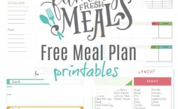 003 Stunning Free Meal Plan Template Concept  Templates Easy Keto Printable Planner For Weight Los