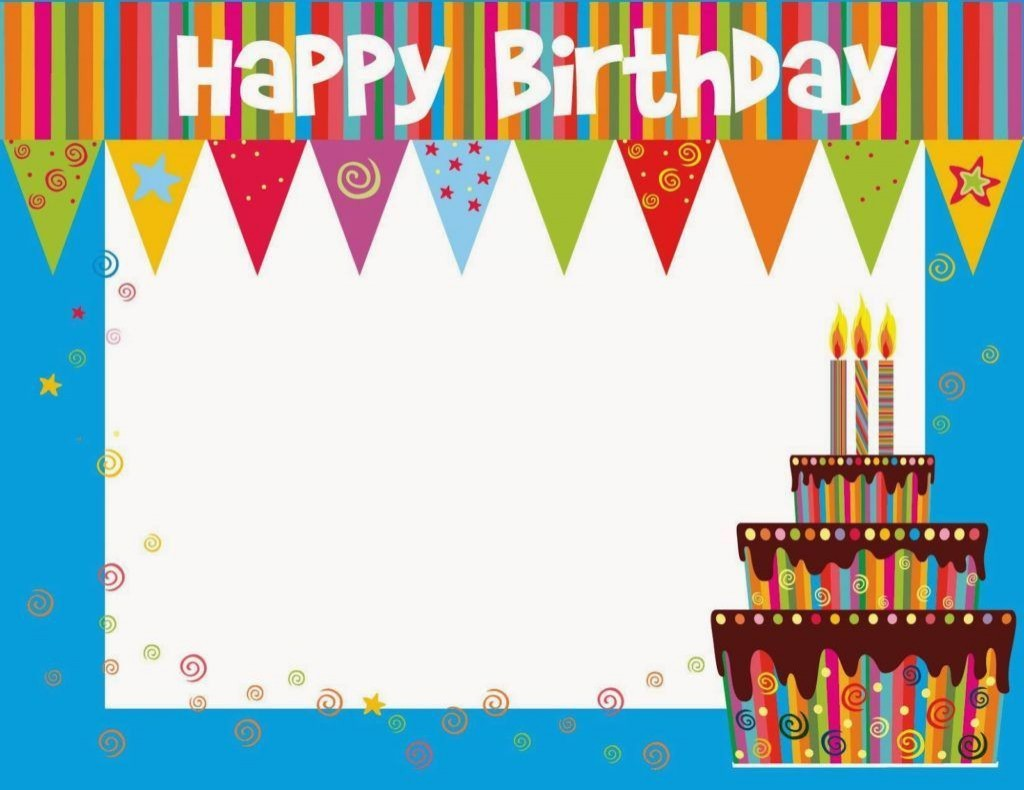 003 Stunning Free Printable Birthday Card Template For Mac Design Large