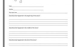 003 Stunning Free Printable Book Report Template For 6th Grade Photo