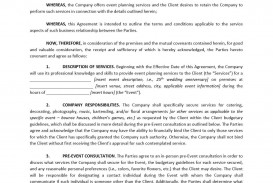 003 Stunning Free Service Contract Template Doc Concept
