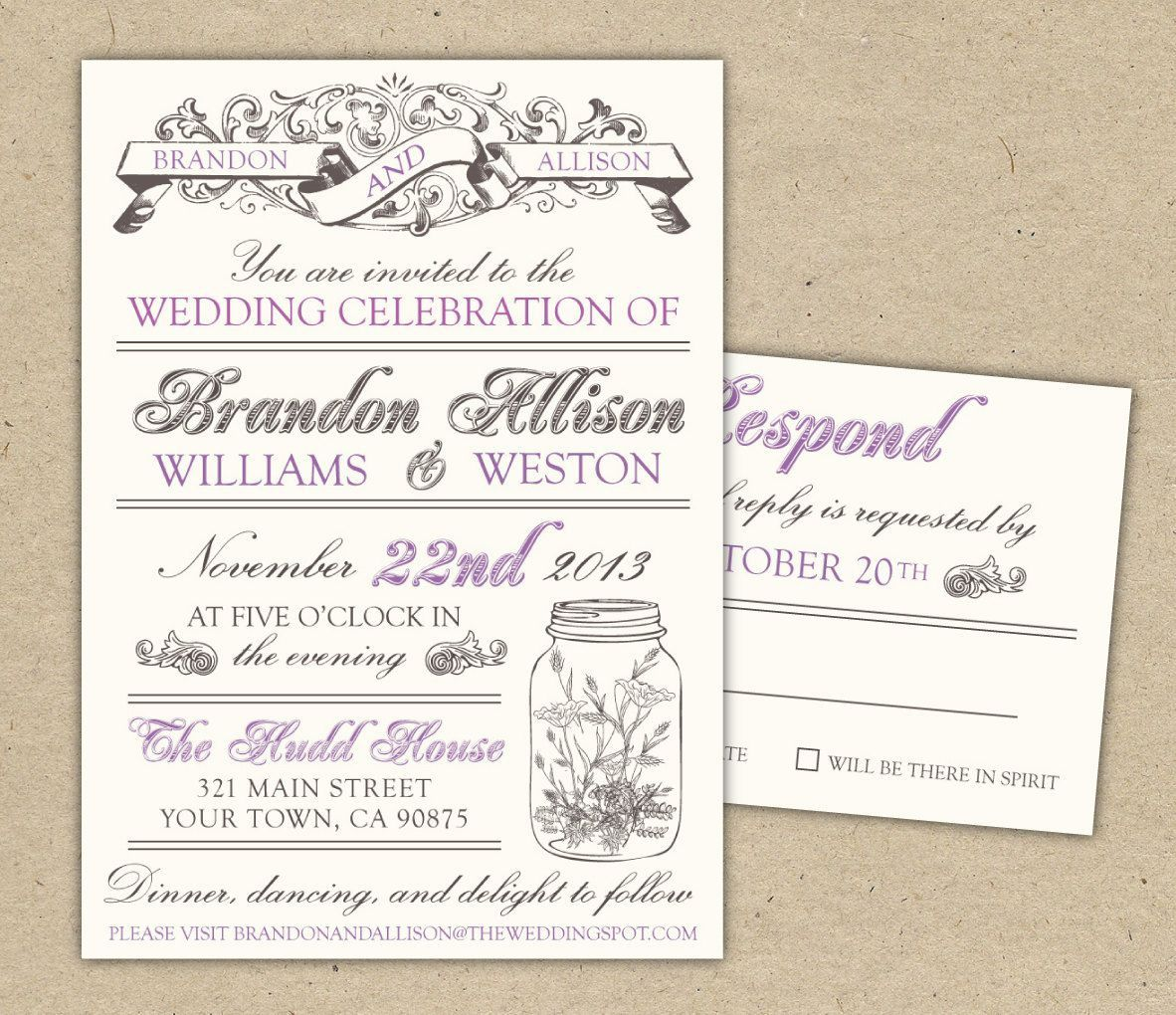 003 Stunning Free Wedding Invitation Template Design  Printable Download Wording Uk FormatFull