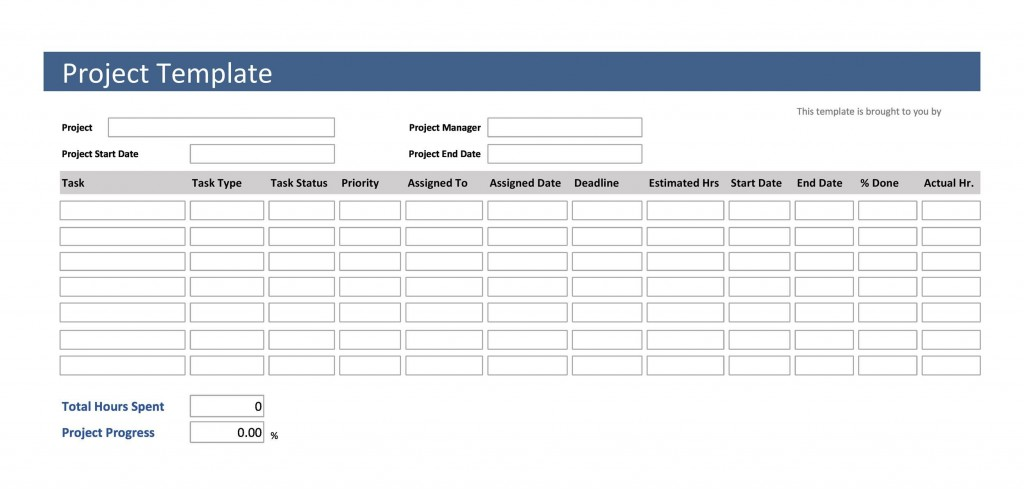 003 Stunning Free Word Project Management Tracking Template High Def  TemplatesLarge