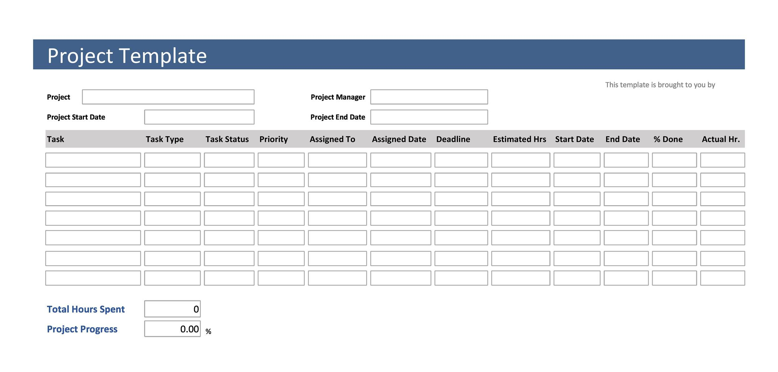 003 Stunning Free Word Project Management Tracking Template High Def  TemplatesFull