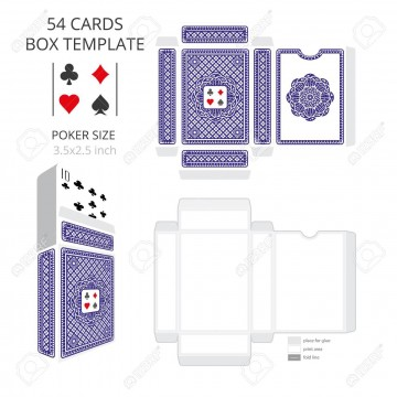 003 Stunning Playing Card Size Template High Definition  Standard Poker360