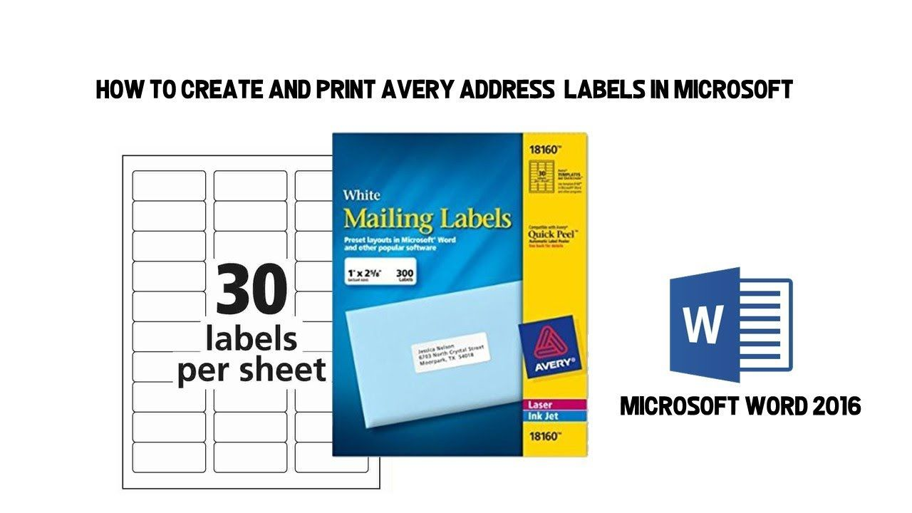 003 Stunning Shipping Label Template Word 2016 Idea Full