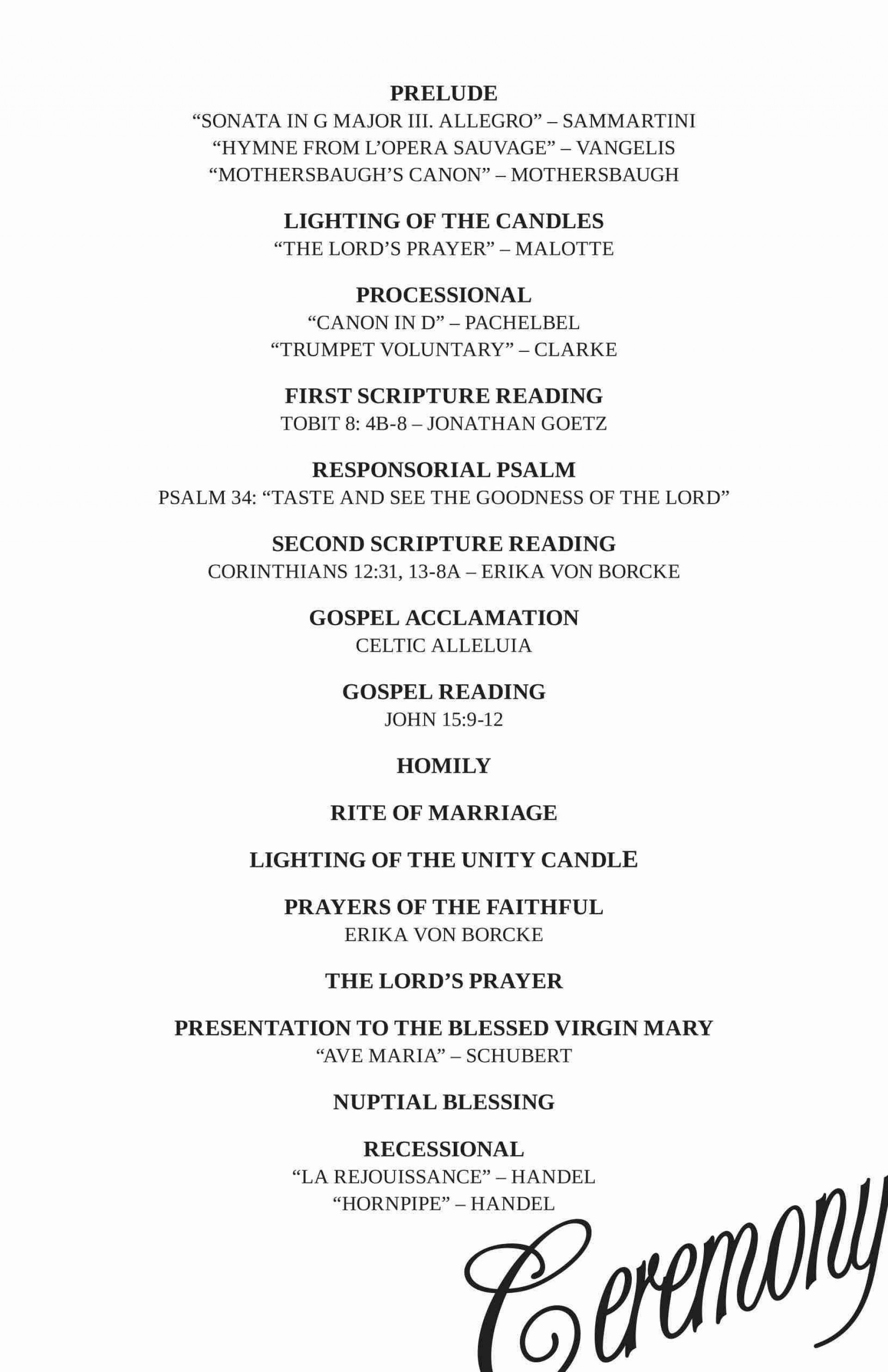 003 Stunning Wedding Reception Programme Template Highest Quality  Program Microsoft Word Free Downloadable Pdf1920