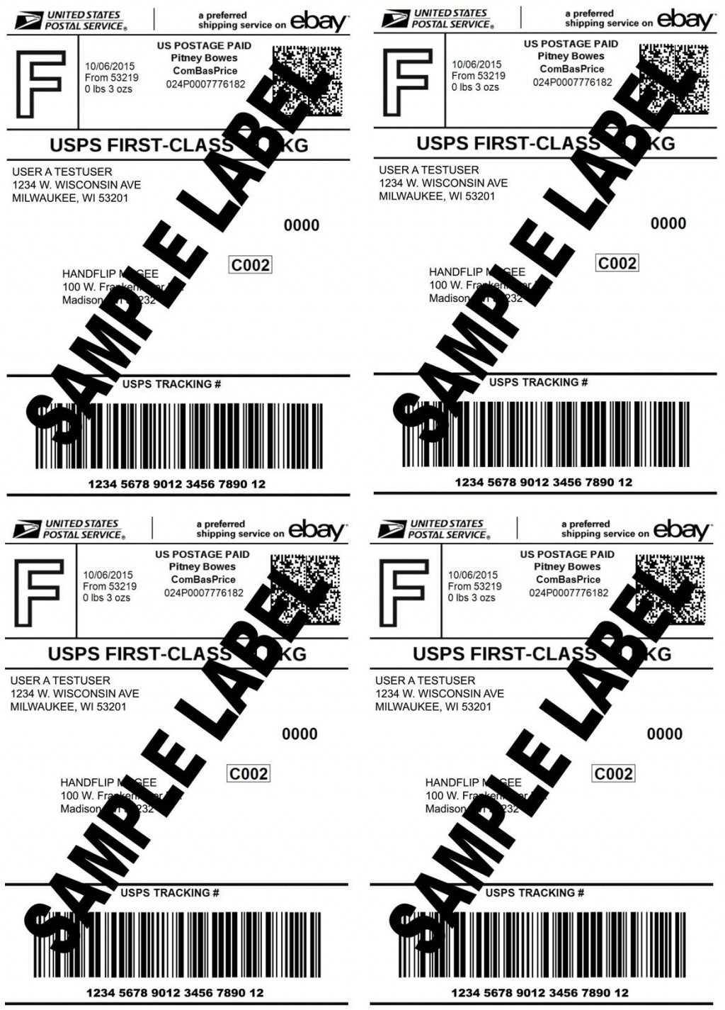 003 Stupendou 4x6 Shipping Label Template Word Example Large