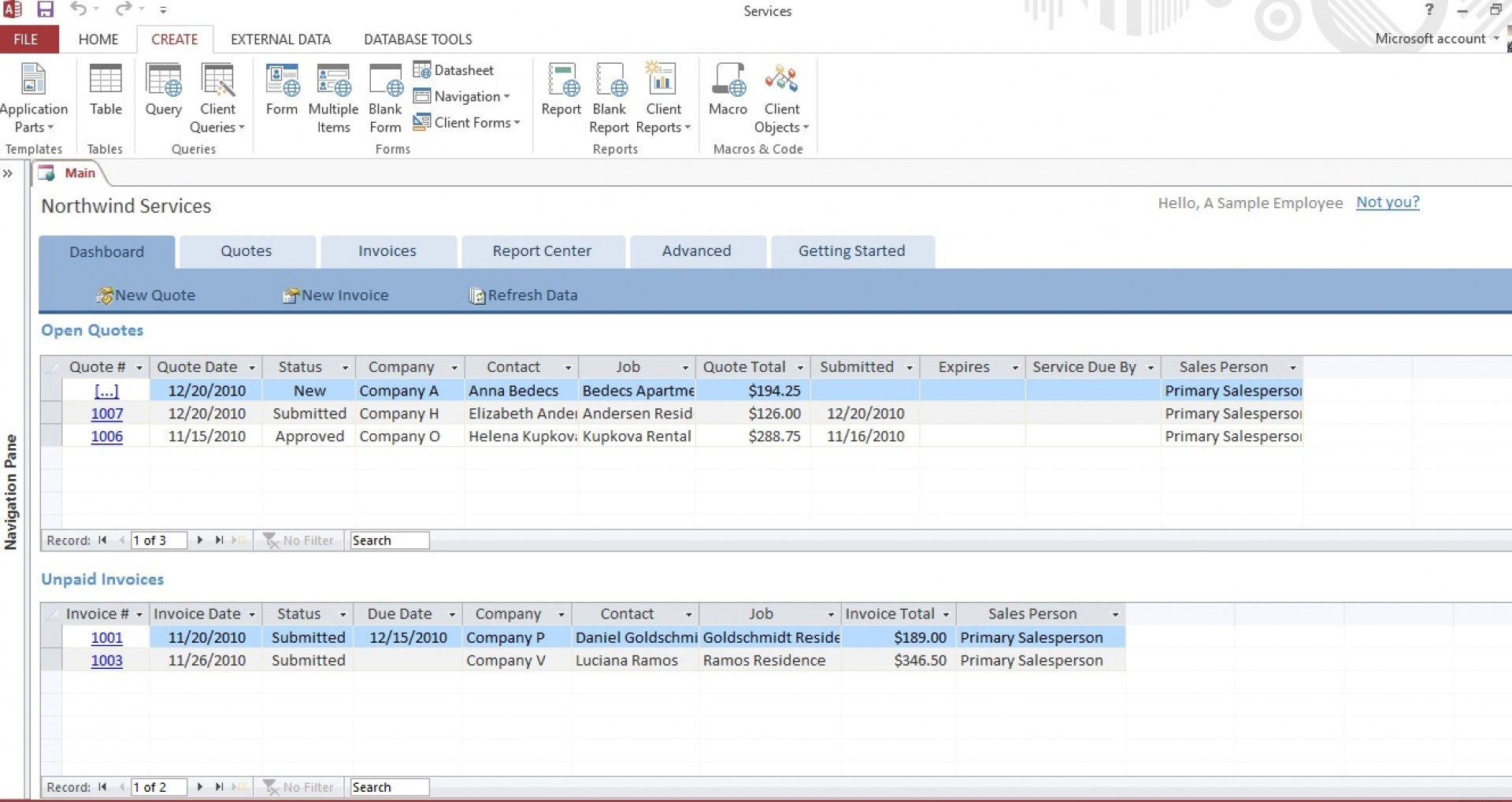 003 Stupendou Acces Template For Small Busines Idea  Business M Free Microsoft Download1920