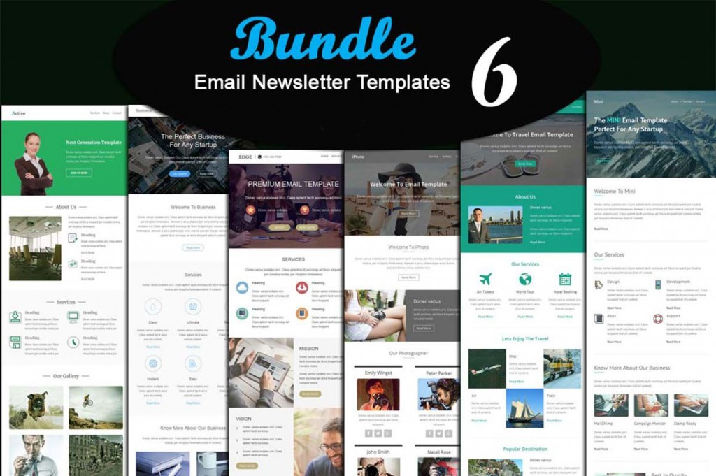 003 Stupendou Email Newsletter Template Free Download Concept  Html BusinesLarge