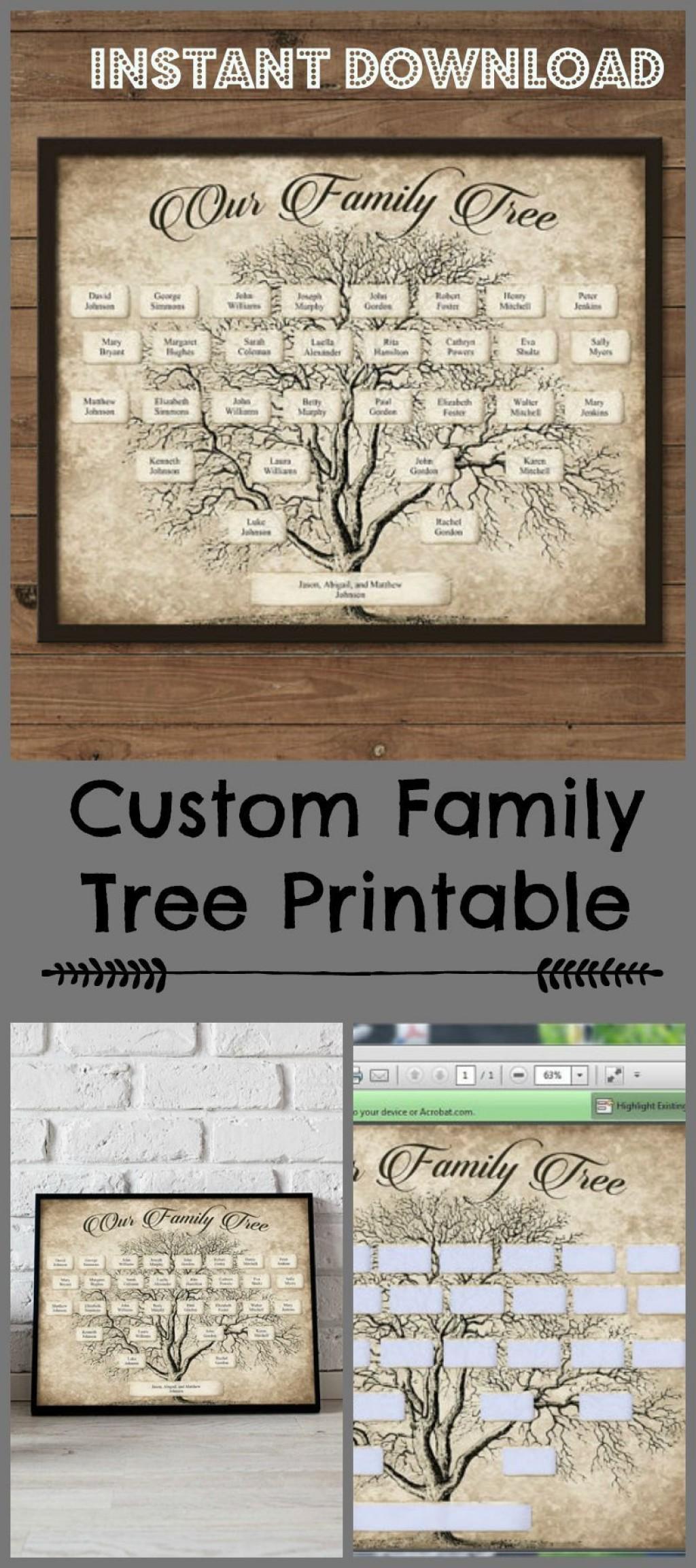 003 Stupendou Family Tree Book Template Sample  Photo FreeLarge