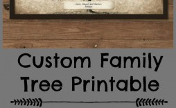 003 Stupendou Family Tree Book Template Sample  Photo Free