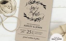 003 Stupendou Formal Wedding Invitation Template Free Picture